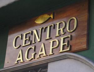 Aviso centro agape