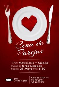 Cena de parejas @ iglesia centro agape | Bogotá | Bogotá | Colombia