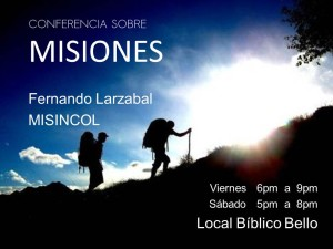 Conferencia sobre misiones @ Local Bíblico Bello