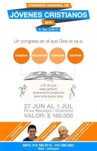 Congreso Nacional de Jóvenes Cristianos 2016 @ Finca Macegal/Girardota