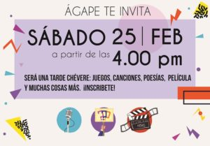 Sábado Especial @ iglesia centro agape | Antioquia | Colombia