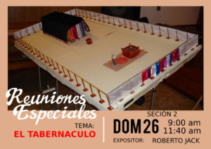 El tabernáculo @ Iglesia Centro Agape | Medellín | Antioquia | Colombia